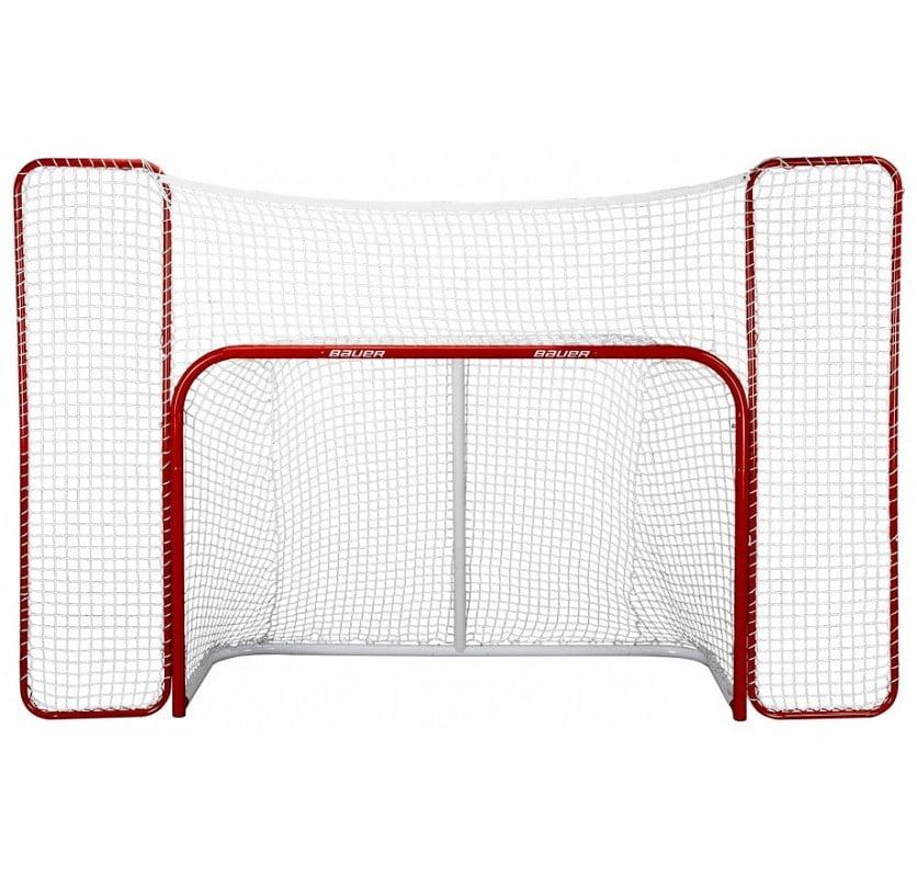 Bauer Hockey Goal m. bagstopper